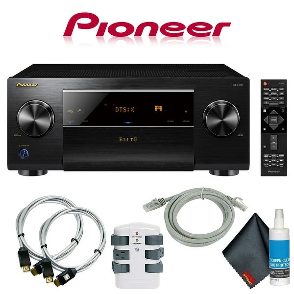 Pioneer Elite SC-LX701 9.2-Channel A/V Receiver + Accessories