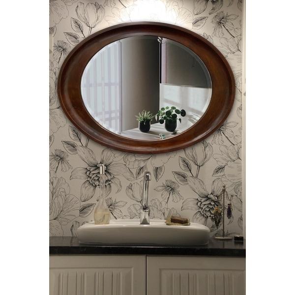 Hala Oval Wall Mirror. Opens flyout.