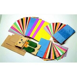 Flat Bottom Paper Bag, 11 x 5.25 x 3.75 In, Brown, Pac