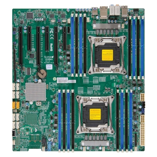 Supermicro Motherboard Mbd-X10sdv-Tp8f-B D-1518 Fcbga 1667 Pci Express Sata Flex