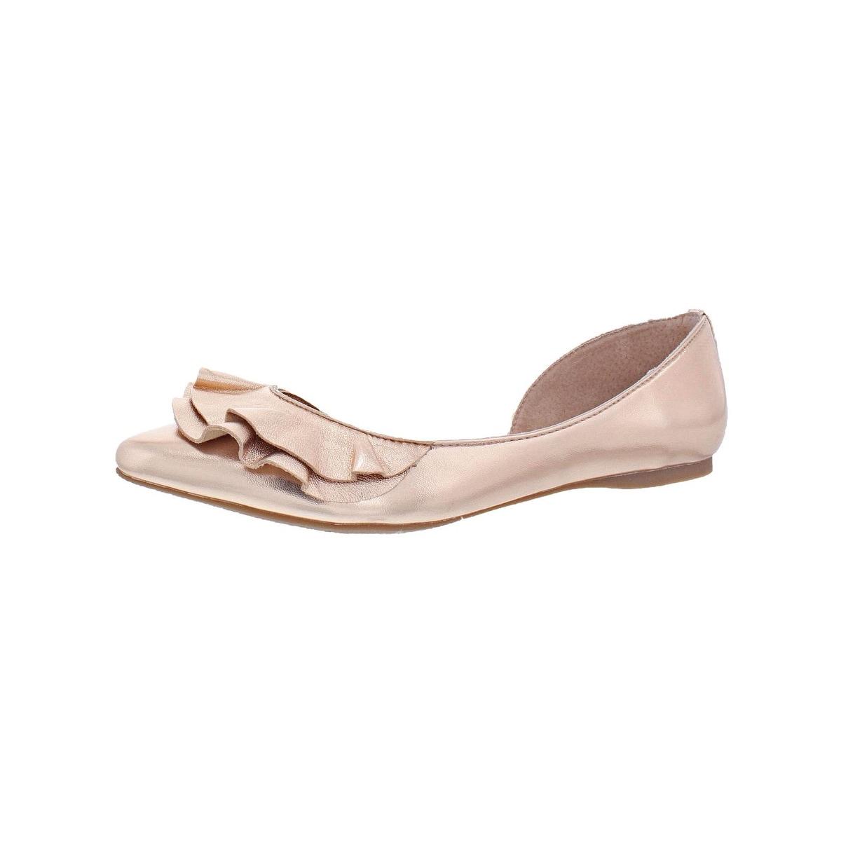 Damenschuhe Sandalen Steve Madden Womens Sunshine Pointed Toe Flat Pick SZ/Color.