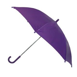 CTM® Kids' Solid Color Stick Umbrella - One size (Option: Purple)