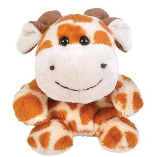 Giraffe Bean Filled Plush Stuffed Animal