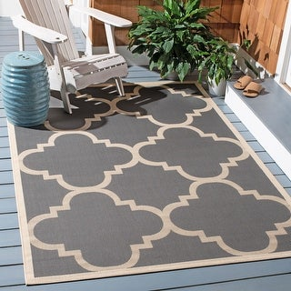 Link to Safavieh Courtyard Maryanne Indoor/ Outdoor Rug Similar Items in Transitional Rugs