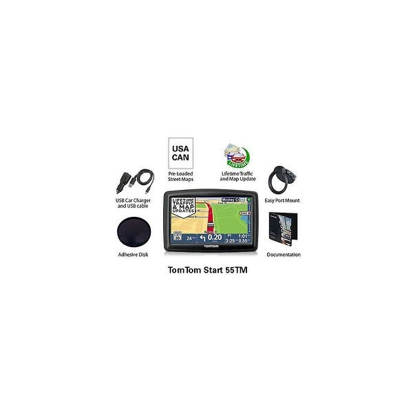 Shop Refurbished TomTom Start55TM 5-inch Automotive GPS w