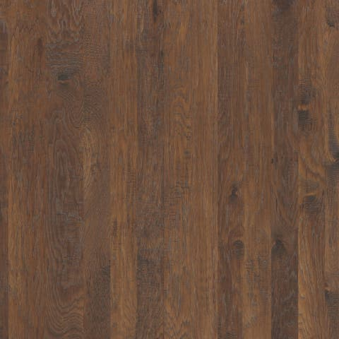 Shaw SW546 Sequoia Hickory Mixed Width Varying Width Handscraped