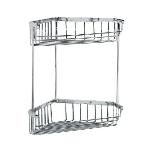 Gatco GC1475 Corner Shower Basket - Chrome