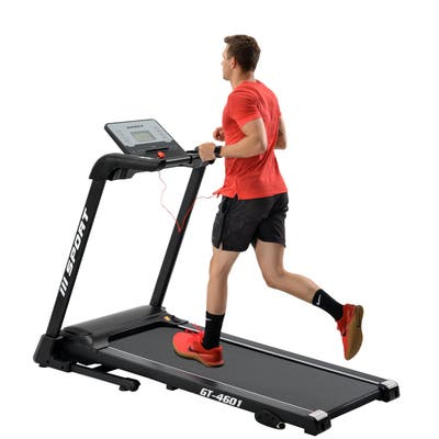 Stronger 2.25 hp treadmill home gym Diamond Pattern Silent Belt