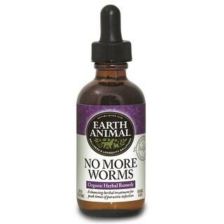 Earth Animal No More Worms 2oz.