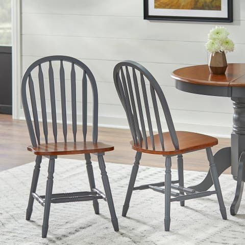 Simple Living Carolina Windsor Dining Chairs (Set of 2)