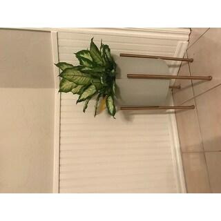 """Nabila Mid Century Planters (Set of 2) - 23""""h x 12.5""""w x 12.5""""d / 19""""h x 10.5""""w x 10.5""""d"""