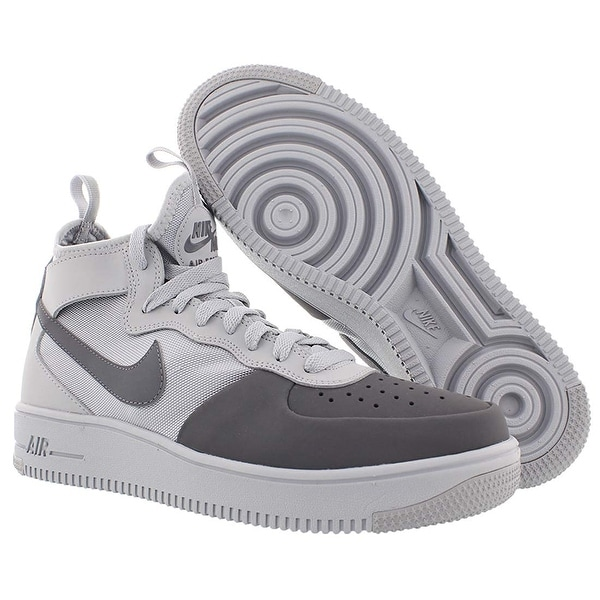 Shop Nike Mens 1 Ultraforce Mid Fabric Low Top Lace Up