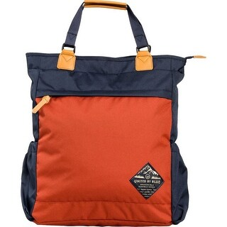 United by Blue Summit Convertible Tote Pack, Navy/Rust
