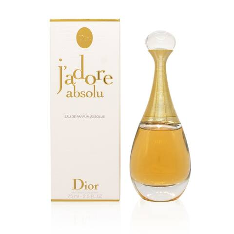 J'Adore L'Absolu by Ch.Dior Edp Spray New Packaging (2014) 2.5 Oz