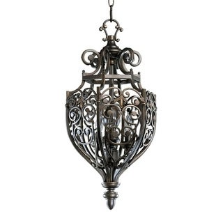 Quorum International 6831-3 3 Light Entry Fixture from the Marcela Collection
