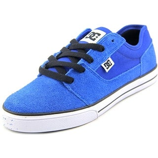 DC Shoes Tonik Youth Round Toe Suede Skate Shoe