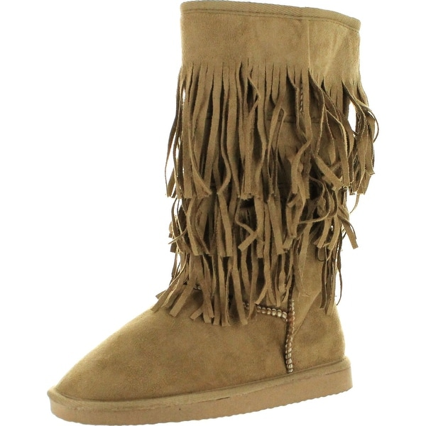 Silver Dew Womens Cozy-04 Fashion Boots