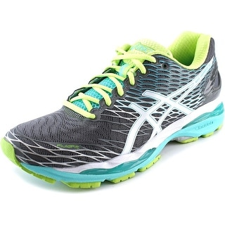 Asics Gel-Nimbus 18 Women 2A Round Toe Synthetic Gray Running Shoe