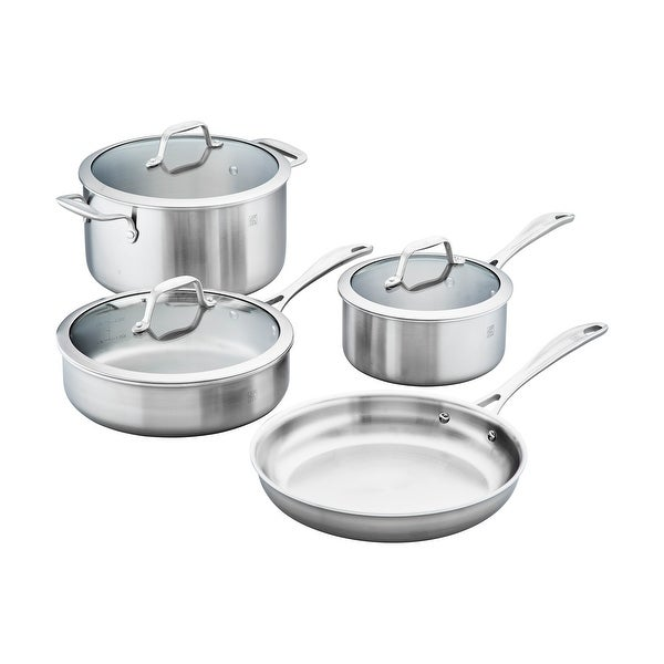 ZWILLING Spirit 3-ply 7-pc Stainless Steel Cookware Set - STAINLESS STEEL