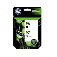 HP 96/97 Black and Tricolor Ink Cartridges C9353BN, Combo 2/Pack
