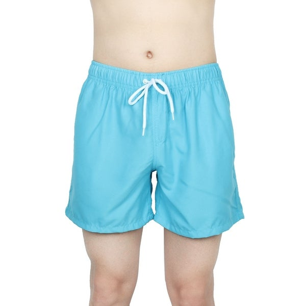 615d4f9c2d Chetstyle Authorized Men Summer Surfing Beach Shorts Swim Trunks Sky Blue W  28