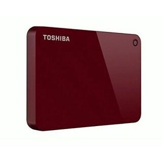 Toshiba - 1Tb Canvio Advance Red