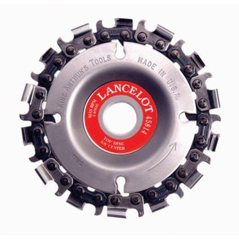 "King Arthur's Tools 45814 Lancelot 4-Inch Diameter, 14 Tooth, 5/8"" Arbor"