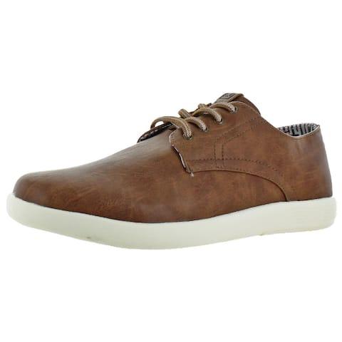 Ben Sherman Men's Parnell Vegan Leather Oxford Sneaker