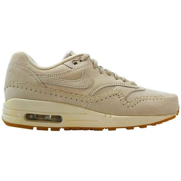 Nike WMNS Air Max 1 PRM Trainers 454746 110 | Beige