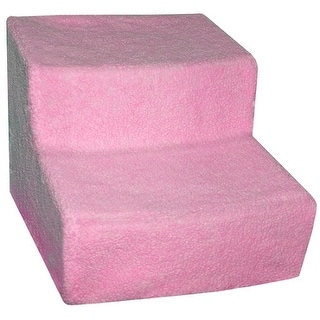 Soft Step II Pet Stairs - Pink