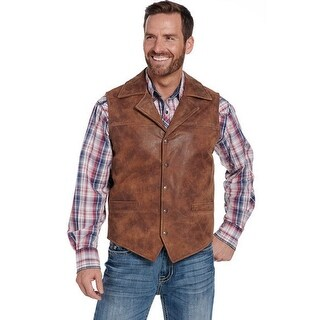 Cripple Creek Western Vest Mens Concealed Carry Whiskey
