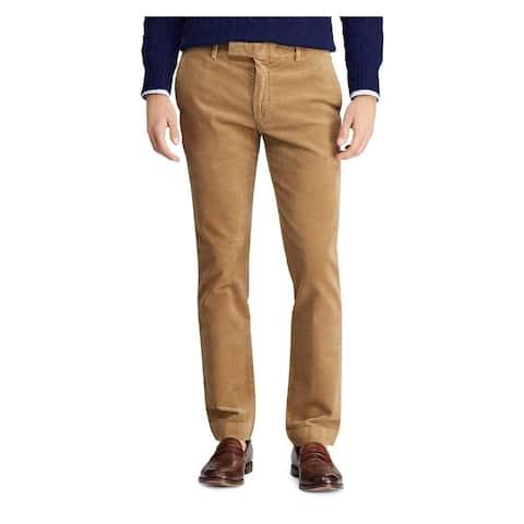 RALPH LAUREN Mens Brown Jeans Size 34 X 32 - 34 X 32