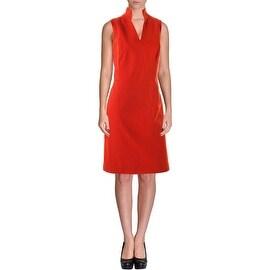 Akris Womens Slash Neck Sleeveless Wear to Work Dress - 12
