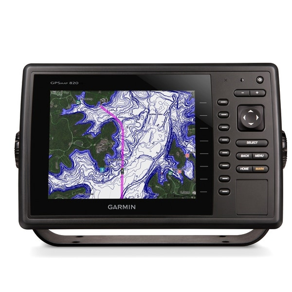 Refurbished Garmin GPSMAP 820xs Combo w/Worldwide Basemap - No Transducer  Garmin GPSMAP 820xs Combo with Worldwide Basemap - No