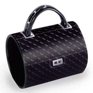"5"" Fashion Avenue Chic Quilted Classic Ceramic Handbag Mug"