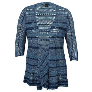 Style & Co Women's Open-Front Knitted Cardigan Sweater - 2x
