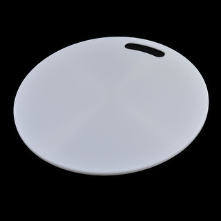 Kitchenware Plastic Round Shape Nonslip Chopping Cutting Board Mat Block Worktop