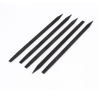 Unique Bargains 5 Pcs 15cm Long Black Plastic Pointy Tip Stick Soldering Repair Tool for Phone