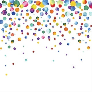 "Ella & Viv Watercolor Party Single-Sided Cardstock 12""X12""-Confetti"