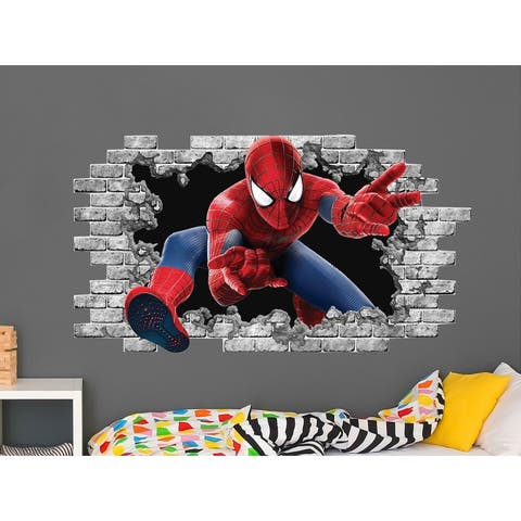 Spiderman Hole in the Wall Decal