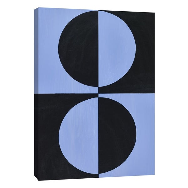 "PTM Images 9-105324 PTM Canvas Collection 10"" x 8"" - ""Azul Moderne 3"" Giclee Abstract Art Print on Canvas"