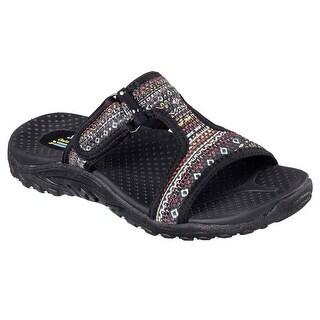Skechers 40789 BKMT Women's REGGAE-ETHNIC VIBES Sandals