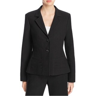 Link to Finity Womens Notch Lapel Two Button Blazer Jacket Similar Items in Suits & Suit Separates