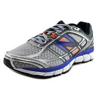 New Balance M860 Men B Round Toe Synthetic Gray Running Shoe