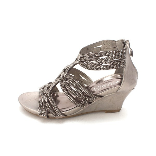 PATRIZIA Womens article sparkling Open Toe Casual Platform Sandals