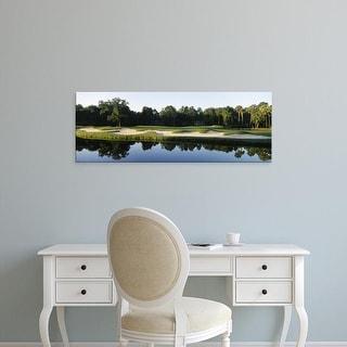 Easy Art Prints Panoramic Image 'Lake,Kiawah Island Golf Resort, Kiawah Island, Charleston, South Carolina' Canvas Art