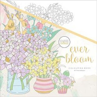 Ever Bloom - KaiserColour Perfect Bound Coloring Book