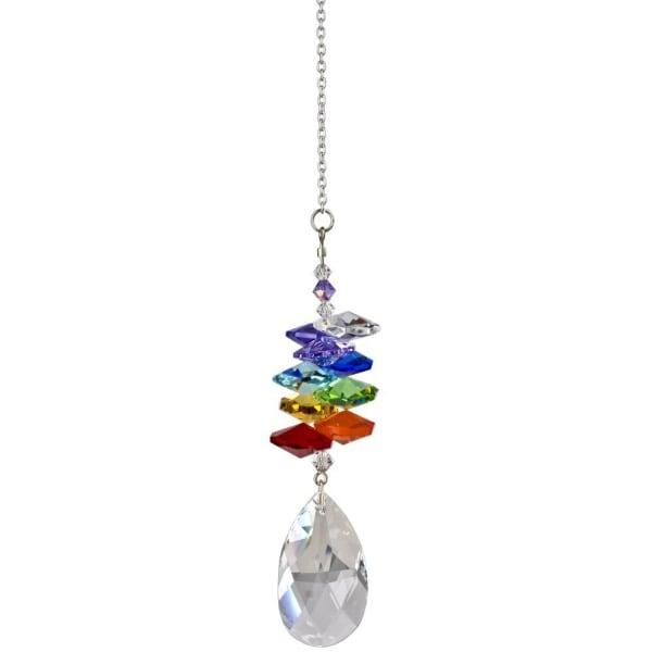 Woodstock Rainbow Makers Crystal Cascade Suncatcher Genuine Austrian Almond