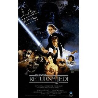 Dave Prowse Darth Vader Star Wars Episode VI Return Of The Jedi 11x17 Movie Poster Photo
