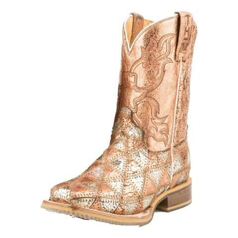 Tin Haul Western Boots Girl MishMash Multi